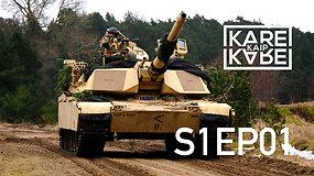 """Kuršių marių pakrantėje – pirmąkart JAV tankai """"Abrams"""""""