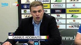 """BEKO-LKL rungtynių komentarai: Klaipėdos """"Neptūnas"""" - Utenos """"Juventus"""""""