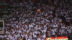 Įspūdingiausios NBA finalų akimirkos