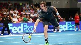 Andy Murray pergale pradėjo naują teniso sezoną
