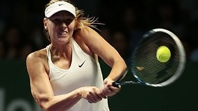 Marija Šarapova prarado galimybes iškopti į pusfinalį Singapūre