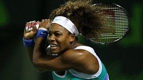 Majamio finale susikaus rusė Marija Šarapova ir amerikietė Serena Williams