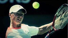 Teniso profesionalų asociacija sukūrė išskirtinį reportažą apie Ričardą Berankį