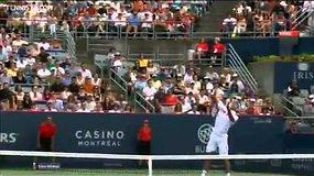 Novakas Džokovičius iškovojo 50-ą pergale sezone