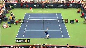 """""""Rogers Cup"""" čempionas Andy Murray krito jau pirmoje kovoje"""
