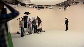 "Rogeris Federeris ""Gillete"" reklamoje"