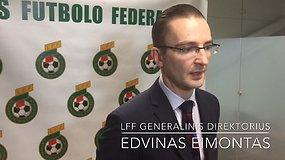 LFF Generalinio Direktoriaus Edvino Eimanto Spaudos Konferencija