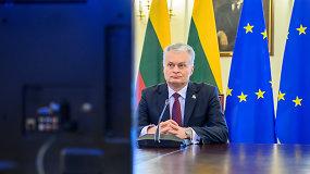 G.Nausėda: stiprus transatlantinis ryšys – saugumo Europoje pagrindas
