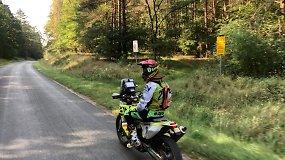 """Motociklininkas Arūnas Gelažninkas  apie šeštadienio """"Baja Poland"""": lenktynės nutrauktos dėl klaidų kelio knygoje"""