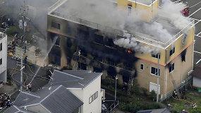 Tragedija sukrėtė Japoniją: per įtariamą padegimą animacijos studijoje aukų padaugėjo iki 33