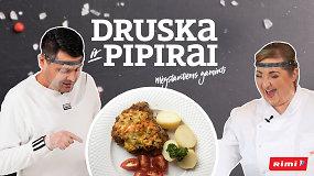 """""""Druska ir pipirai"""": garstyčios ir 10 minučių orkaitėje įprastus kiaulienos kepsnelius pavers magiškais"""
