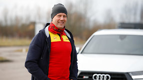 Lenktynininkas Ramūnas Čapkauskas: kas svarbu žiemą ir kokia tikroji ABS funkcija