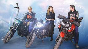 Brolių benzingalvių dirbtuvėse: nuo naktimis naujam gyvenimui žadinamų motociklų iki nemokių klientų