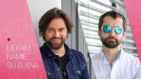 """""""Liekam namie su Elena"""": netikėtas L.Somovo ir A.Chošnau duetas – karantinas paskatino naujam projektui"""