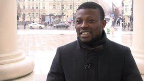Nigeriečio Samsono planai Lietuvoje – sukurti šeimą ir pasistatyti namą
