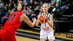 """Justė Jocytė po debiuto rinktinėje: """"Lauksiu kito kvietimo"""""""