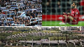 """""""Vieni vartai"""": Premjero pareiškimas dėl stadiono, svastikos Italijoje ir didelė intriga Anglijoje"""