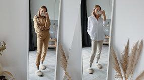 Naminiai aprangos deriniai: kaip karantino metu jaustis ne tik produktyviai, bet ir gražiai