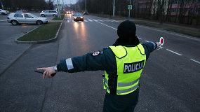 """Kauno gatvėse policijos pareigūnai surengė """"Sąžiningumo testą"""""""
