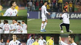 """""""Vieni vartai"""": Cristiano Ronaldo istorija Lietuvoje, baudos ir atvertos nematomos žaizdos"""