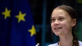 """Greta Thunberg jau sulaukė pilnametystės: """"Mane galėsite sutikti vietiniame bare"""""""