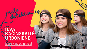 Ieva Kačinskaitė-Urbonienė užsiminė apie buvusius pykčius su Viktoru Uspaskichu ir prisipažino dirbusi Kėdainių konservų fabrike
