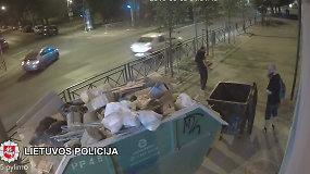 Vilniuje policija ieško sienų tepliotojo
