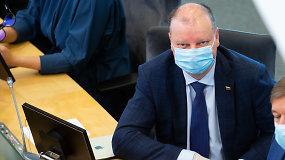 S.Skvernelis: Lietuva ruošiasi antrajai koronaviruso bangai – kaupiamas reikiamų priemonių rezervas