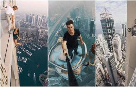 """Žaidžiantys su likimu: dėl įspūdingų kadrų """"Instagram"""" tinkle rizikuojama savo gyvybėmis"""