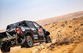 Taip Dakare šokinėja Benediktas Vanagas: pamatykite, kaip tai atrodė sėdint automobilyje
