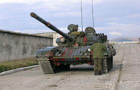 Rusijos kariniame poligone sprogo tankas