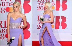 Dainininkei Pixie Lott suknelės skeltukas iškrėtė nemalonų pokštą – parodė daugiau nei turėjo