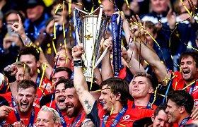 """Londono """"Saracens"""" regbio klubas antrus metus iš eilės tapo stipriausiu Europoje"""