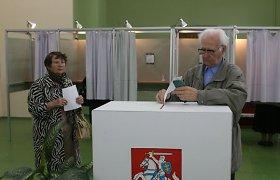Marijampolės apygardoje vyksta rinkimai į laisvą vietą Seime