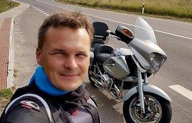 Giedrius Leškevičius ir jo aistra motociklams