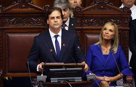 Urugvajuje prisiekė naujasis prezidentas Luisas Lacalle Pou