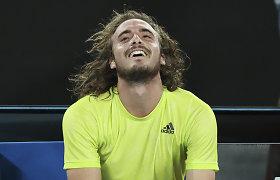 R.Nadalio pasirodymas baigtas: keturių valandų trileryje ispaną eliminavo graikas