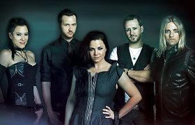 """Jau kitą savaitę Trakus drebins garsieji amerikiečių rokeriai """"Evanescence"""""""