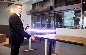Dėl šiuolaikinio žmogaus sveikatos – naujausių technologijų ir biuro baldų jungtuvės