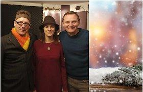 """""""Šerkšno tyla"""" ir L.Mikalauskas dovanoja svajingą kūrinį """"Žiūrėk, jau sninga"""": tikimės, kad jis nukels į vaikystės žiemas"""