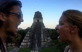 """Į Gvatemalą – apžiūrėti ugnikalnių ir """"majų Niujorku"""" vadinamo Tikalio"""