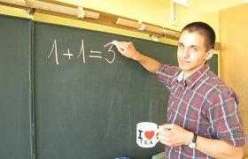 "Matematikos mokytojas Vytautas Miežys: ""Kur belįstum, matematika padeda suprasti pasaulį"""