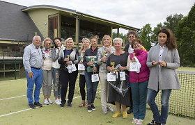 Dubingiuose vyko atkaklios moterų kovos teniso ir padelio aikštėse