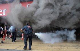 F-1 planuojama naudoti naują degalų saugos sistemą