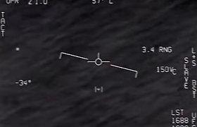 Pentagonas oficialiai išviešino nutekėjusius NSO vaizdo įrašus