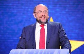 Naujam Europos Parlamentui ir toliau pirmininkaus Vokietijos socialdemokratas Martinas Schulzas