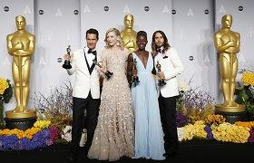 """""""Oskarų"""" apdovanojimai: geriausiu metų filmu tapo """"12 vergovės metų"""", daugiausia statulėlių pelnė """"Gravitacija"""""""