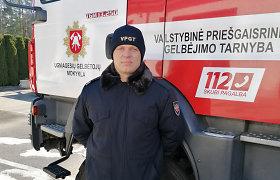 """Gaisrininkas Skirmantas: """"Labai nustebau, kad ugniagesių darbas – ne tik vandens pylimas į ugnį"""""""