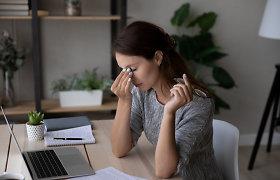 Kai migrena užklumpa darbe