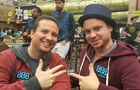 Brilijant vlogas: apie Las Vegaso turnyrų pasiūlą WSOP metu